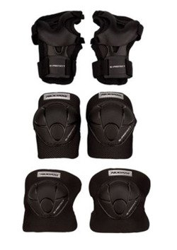 3-PC PROTECTOR SET BLACK