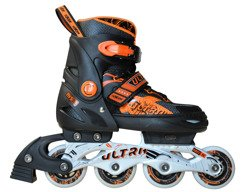 ADJUSTABLE INLINE SKATES ULTRA ORANGE A0804-L