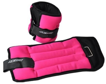 ANKLE WEIGHTS WITH VELCRO 2 x 1,5 KG