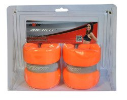ANKLE WEIGHTS WITH VELCRO 2 x 1 KG  AXER SPORT