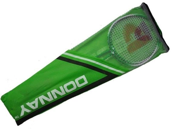 BADMINTON SET DONNAY GREEN