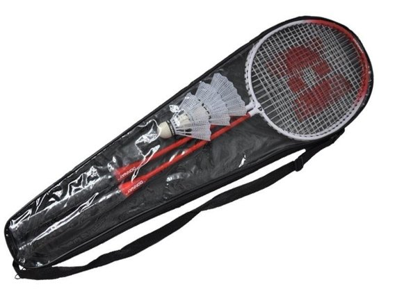 BADMINTON SET DONNAY RED