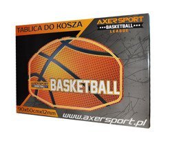 BASKETBALL RING WITH BOARD 45CM