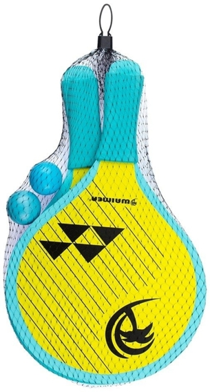 BEACH PADDLE SET ANIMAL BLUE