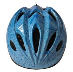 BICYCLE HELMET COOL BLUE