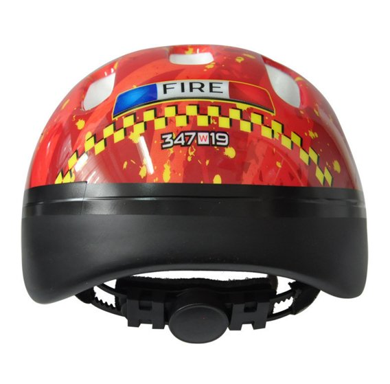 BICYCLE HELMET HAPPY FIRE