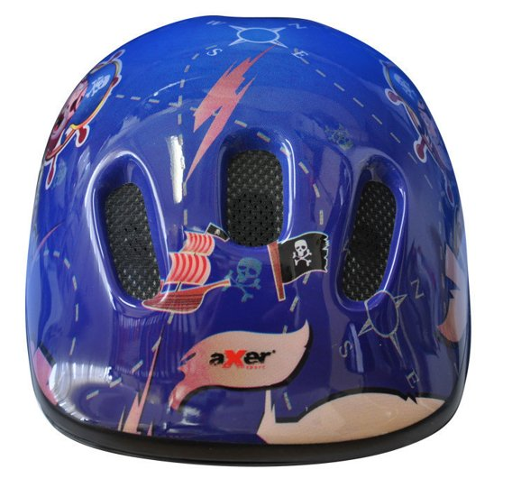 BICYCLE HELMET HAPPY LIGHT PIRATES BLUE