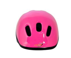 BICYCLE HELMET HAPPY REFLEX PINK