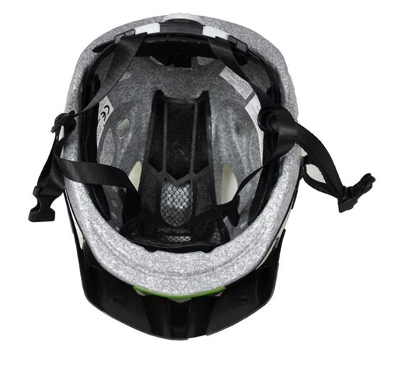 BICYCLE HELMET SETTO GREEN LINE OUT-MOULD