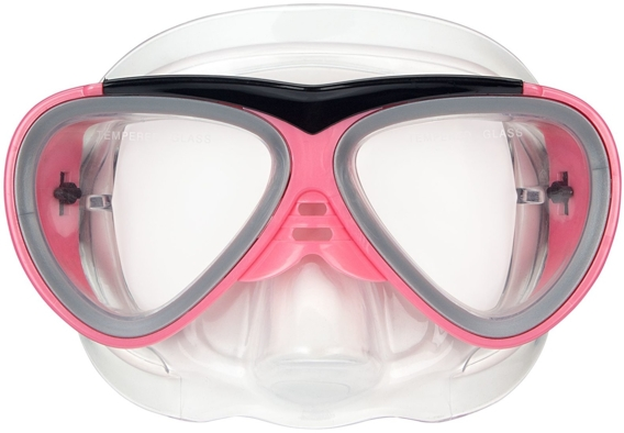 DIVING MASK WITH SNORKEL SENIOR