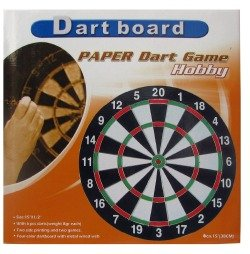 DOUBLE-SIDED DARTBOARD Ø 38cm