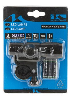 FRONT BICYCLE LIGHT WITH ZOOM AXER BIKE