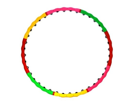 HULA HOOP WITH MASSAGE POINTS