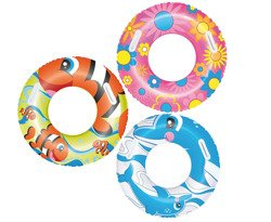 "INFLATABLE SWIM RING ""KIDDIE"""