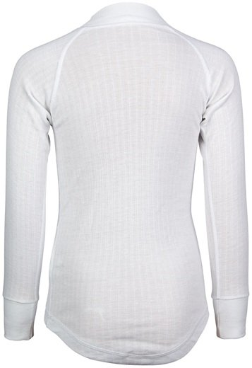 JUNIOR LONG SLEEVE THERMAL SHIRT 2-PACK WHITE