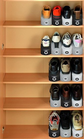 ORGANIZER FOR SHOES BLACK