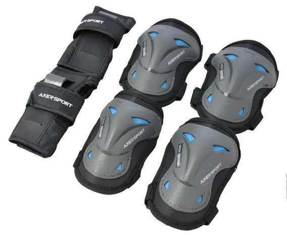 PROTECTIVE PAD SET BLUE