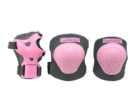 PROTECTIVE PAD SET JUNIOR PINK
