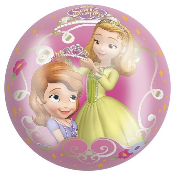 RUBBER BALL SOFIA THE FIRST 9""