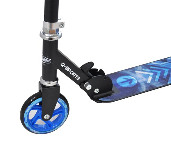 SCOOTER SPEED WHEELS 125 MM BLUE