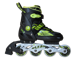 ADJUSTABLE INLINE SKATES ULTRA GREEN A0810-L