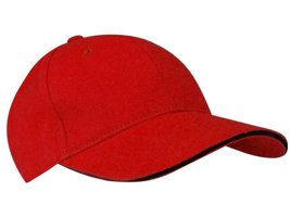 BASEBALL CAP SENIOR RED