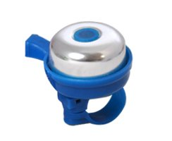BICYCLE BELL 4CM BLUE