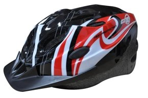 BICYCLE HELMET COOPER BLACK/RED