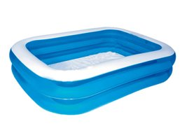 DELUXE BLUE RECTANGULAR FAMILY POOL L305 x W183 x H56cm
