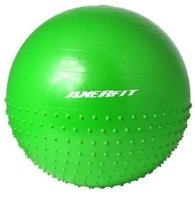 HALF GYM BALL HALF MASSAGE BALL 65CM