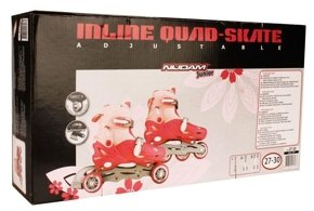 INLINE QUADS JUNIOR XS(27-30) S(30-33) | Skating \ Inline Skates